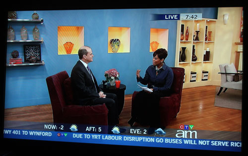Andrew Feldstein, managing partner of Feldstein Family Law Group, interviewed by Marci Ien on Canada AM on the topic of the odd disappearance of the mother of the late Michael Jackson, who had interim custody of his children.